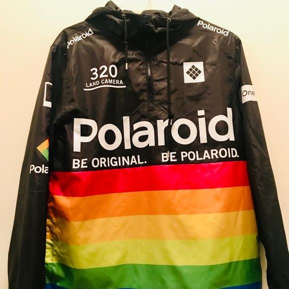 b598db190 **Rare** Polaroid Be Original Windbreaker Jacket